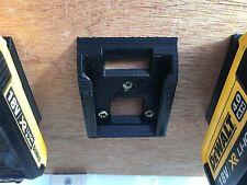 5 x batería de almacenamiento de montaje para Dewalt XR 18v 20v Protector de ranura de estanterías de suspensión