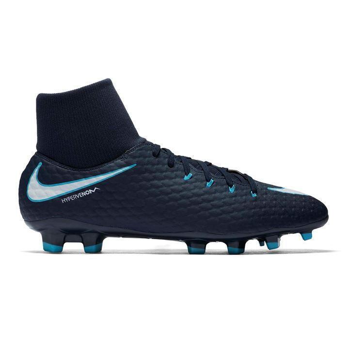 Nike Hypervenom Phelon DF Mens FG Football Boots US 8 REF 3162 Wild casual shoes