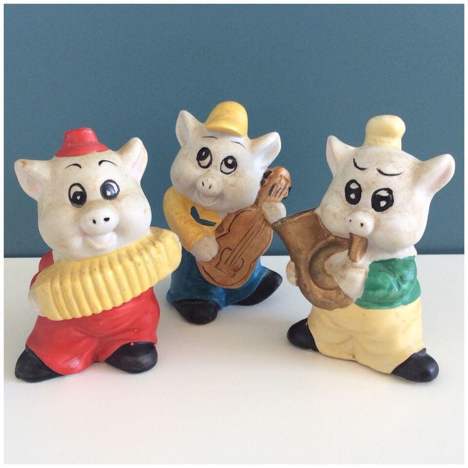 Keramik, De tre små grise, figurer