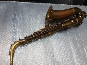 Raisonnable 50's Vito Alt/alto Sax/saxophone-made In Usa-afficher Le Titre D'origine