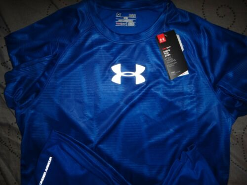 UNDER ARMOUR TECH SHIRT FITTED PATTERN SIZE  L MEN NWT $$$$