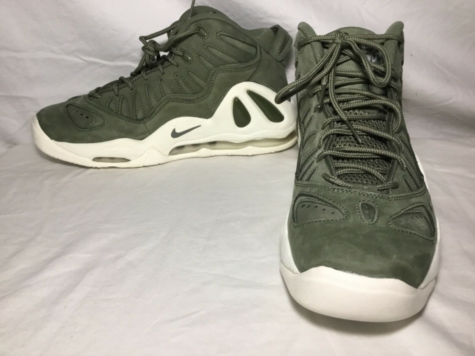 Nike Air Max Uptempo 97 Mens Basketball, Urban Haze/White Sz 9.5 The most popular shoes for men and women