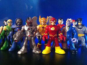 IMAGINEXT-SUPER-HERO-ADVENTURES-PLAYSKOOL-FIGURES-BATMAN-SELECT-MARVEL