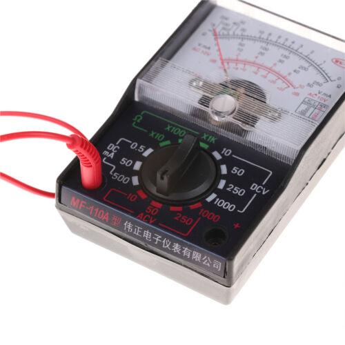 1000V Voltmeter DC//AC 250mA Ammeter 1K Resistance Meter Analog Multimeter XW