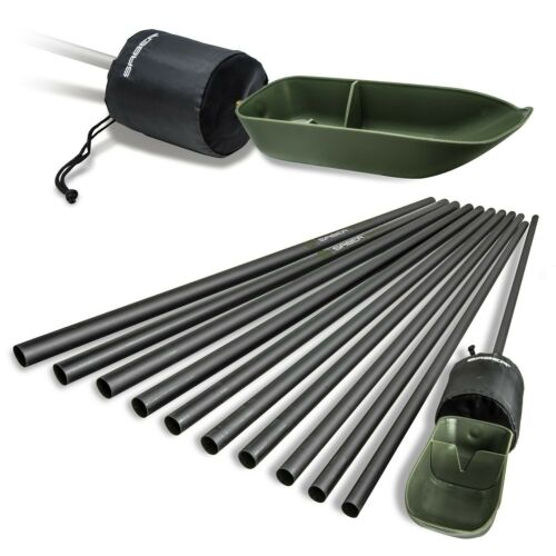 Saber-18m-Baiting-Pole-with-Spoon-amp-Float-Carp-Fishing-Bait-Presentation-System