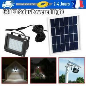 DEL Energie Solaire Détecteur de mouvement extérieur jardin projecteurs sécurité Lampe BTH