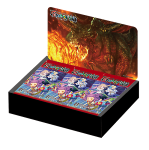 CAJA DE SOBRES Force of Will BATTLE FOR ATTORACTIA INGLES 36 Packs FOW SELLADA
