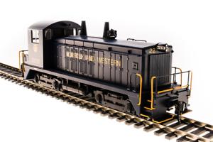 Serie 4728 EMD conmutador SW7, N & W blu con oro, Paragon 3 Sonido Dc dcc