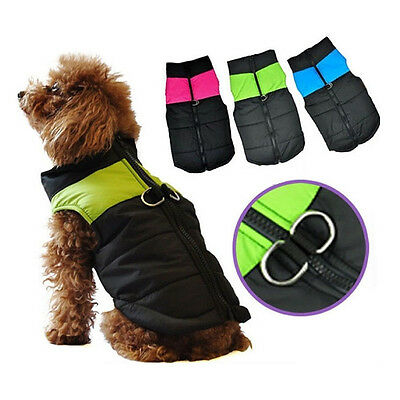 New Pet Dog Waterproof Comfortable Clothes Winter Warm Vest Coat Jacket S-XL