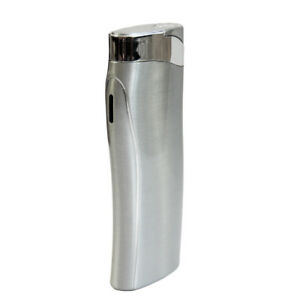 Geschwungenes Design Laserjet - Gas Feuerzeug mit Gravur nachfüllbar  ej014