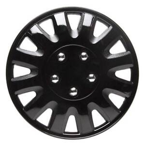 Details about Motion 14 Inch Wheel Trim Set Gloss Black Set of 4 Hub Caps Covers By TopTech