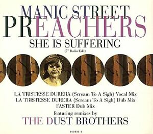 MANIC-STREET-PREACHERS-she-is-suffering-limited-CD-single-CD2-660895-5-indie