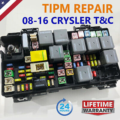 2008-2016 Chrysler Town /& Country TIPM Fuel Pump Relay Replacement Service