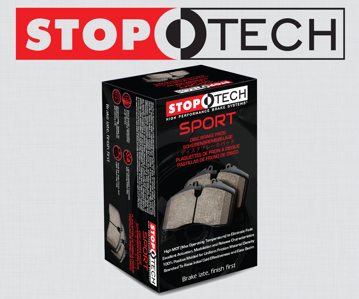 StopTech 309.14630 Sport Brake Pads with Shims and Hardware