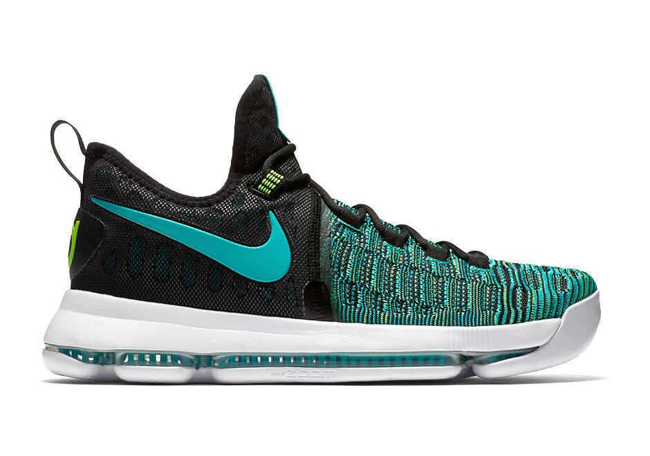 MENS NIKE ZOOM KD 9 BASKETBALL SHOES SIZE 11 CLEAR JADE GREEN BLACK 843392 300 Comfortable and good-looking