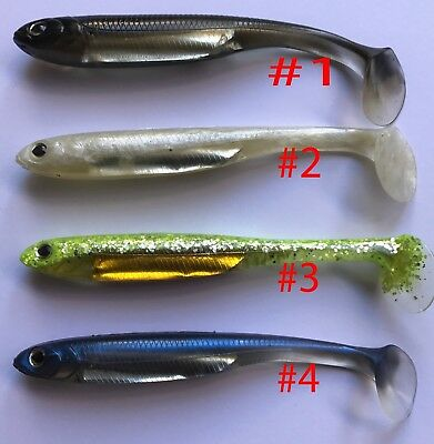 """Fish Arrow Flash J Shad 5"""" SW Bass Fishing Lure Saltwater and Freshwater Lure"""