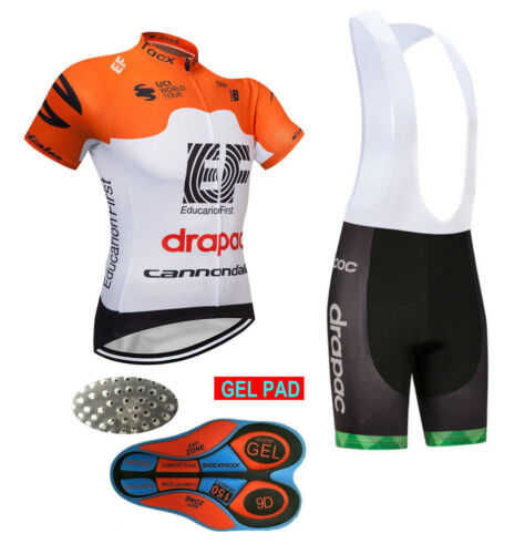 YSO064 New Team Racing Cycling Short Sleeve Jersey T-shirt bib Shorts