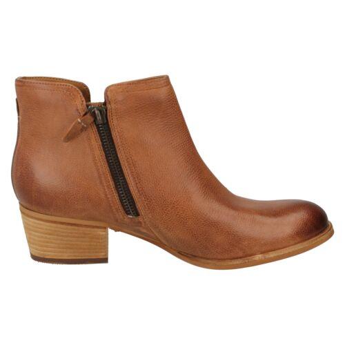 Chelsea Tacón Mujer Zapatos Piel Cremallera Maypearl Bajo Ramio Botines Clarks aR4xwqZwf