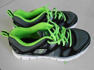Details zu Skechers Halbschuhe Turnschuhe Sportschuhe 36 sneaker Schuhe leicht neonfarben