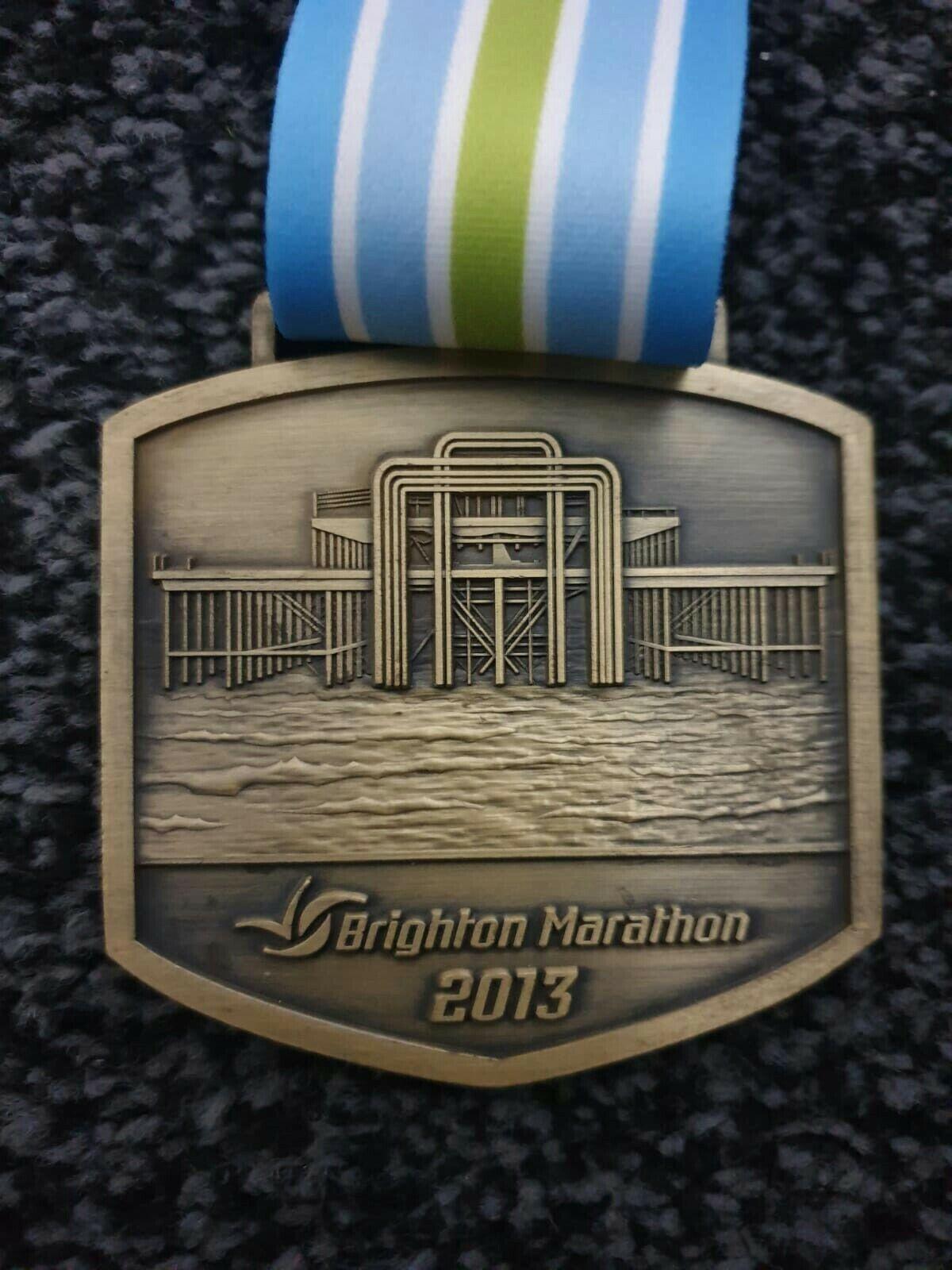 Brighton Maratón Medalla 2013 Muelle