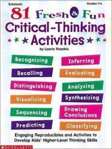 activities for critical thinking