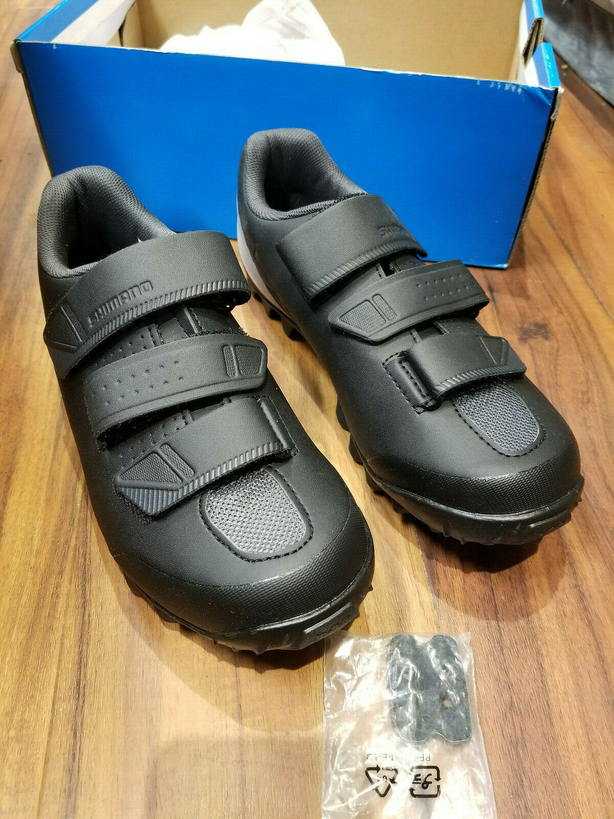 Shimano ME2 Mountain Bike Enduro Shoes SH-ME200 Mens Size 42 48 US 8.3 to 12.3