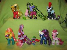 G4 My Little Pony 8 POWER PONIES LOT Masked Superhero MANE SIX & SPIKE + MANEIAC
