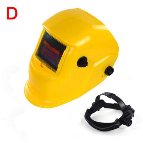 Auto Darkening Welding Helmet ARC//TIG//MIG Mask Grinding Adjustable Shade Welder