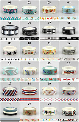 kawaii decorative washi tape elephant road tape for scrapbooking masking tape