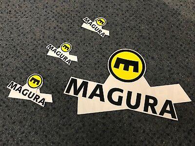 Magura Factory Sticker Pack X8 Single Stickers MTB Trials Road Trials Brand New