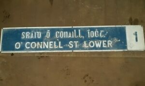 Original-O-039-Connell-Street-Lower-Dublin-Road-Sign