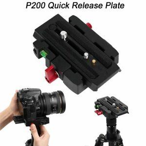 rapide-base-tripod-diapositive-tete-For-Manfrotto-500-AH-701-503-HDV-577