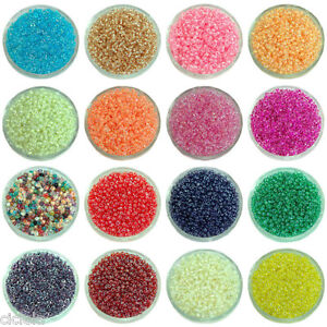 22 Colors Pick 2000Pcs Czech Glass Seed Spacer Beads DIY Jewelry Making 2mm Beads & Jewellelry Making Supplies