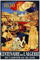 French Vintage Decoration & Design Poster.algerie.house Home Wall Art Decor.782i
