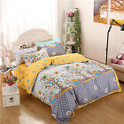 Xmas Tree Home Single Queen King Size Bed Set Pillowcase Quilt Duvet Cover L