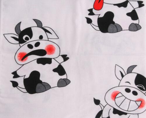 Wickeltuch Flanellauflage Flanell Wickelauflage Tuch Spucktuch Baby Bär Kuh Maus