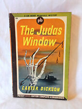 Carter Dickson THE JUDAS WINDOW Pocket Book #231 1943 1st prtg vintage PB