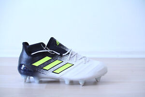 Details about Adidas Ace 17.1 SG Leather Black White Size 41,42,43,44,45,46 s77053 show original title