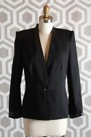 Helmut Lang Cove Suiting Blazer 6 $655 Jacket