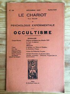 Le-Chariot-n-68-Decembre-1935-revue-Occultisme-Astrologie-Philosophie