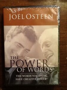 Details about The Power of Words (Joel Osteen Ministries, DVD )
