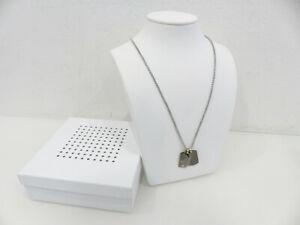 diesel dx1144034 halskette kette herren men mit box neu 92 l ebay. Black Bedroom Furniture Sets. Home Design Ideas