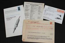 vecchio DDR Manuale di istruzioni Elettrico Avvitatori portatili Tipo SRB 6 1 Ex