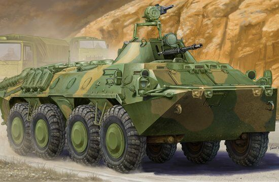 01593 Trumpeter 1 35 Model BTR-70 APC Transport Vehicles in Afghanistan Panzer