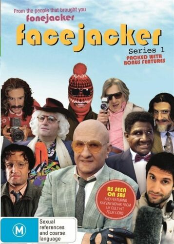 1 of 1 - Facejacker - Series 1 DVD Comedy TV Series