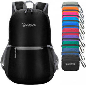 ZOMAKE Ultra Lightweight Packable Backpack Small Water Resistant Travel Hiking