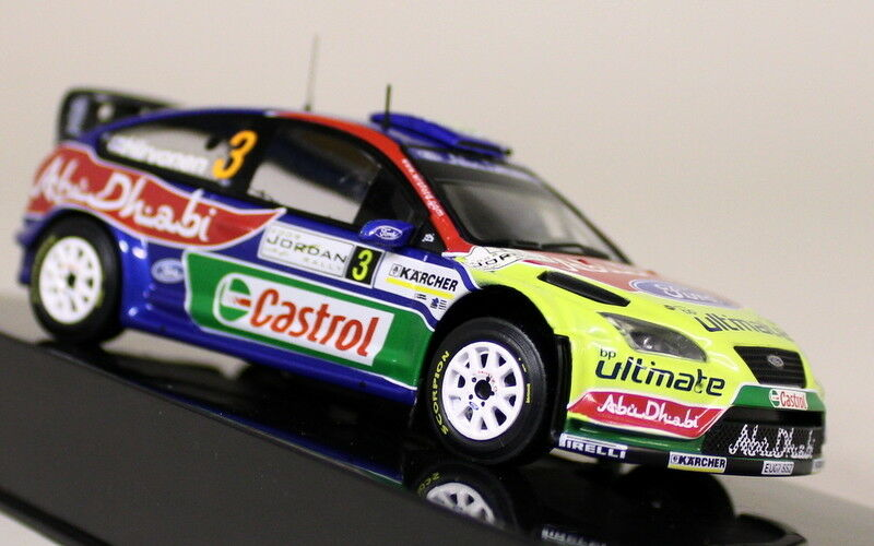 Ixo 1 43 Scale RAM326 Ford Focus RS WRC 1st Jordan Rally 2008 Diecast Model Car