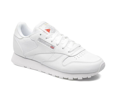 82fae2af0ad15 item 2 REEBOK CLASSIC LEATHER JUNIOR - WHITE - 50151 - JUNIOR WOMENS  TRAINERS - NEW -REEBOK CLASSIC LEATHER JUNIOR - WHITE - 50151 -  JUNIOR WOMENS TRAINERS ...