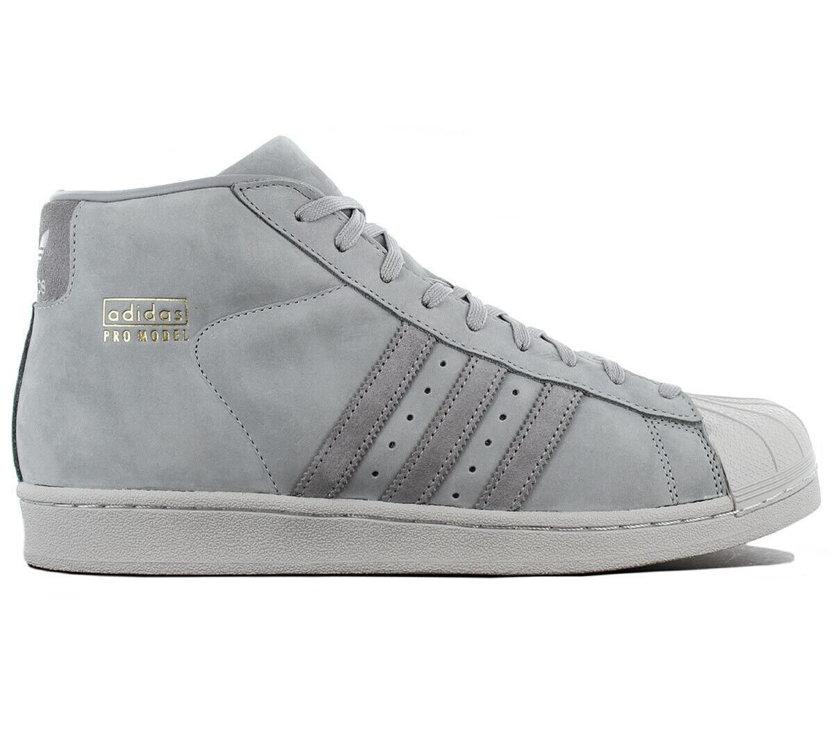Adidas Originals Pro Model Leather Superstar Turnschuhe Schuh Grau BZ0215 Turnschuh    | Stil