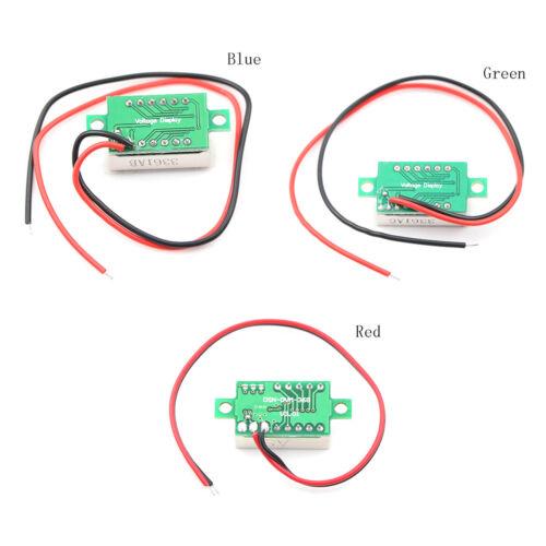 Digital LED Display Module DC2.7V-32V Voltmeter Voltage Tester Panel Meter 2/_7